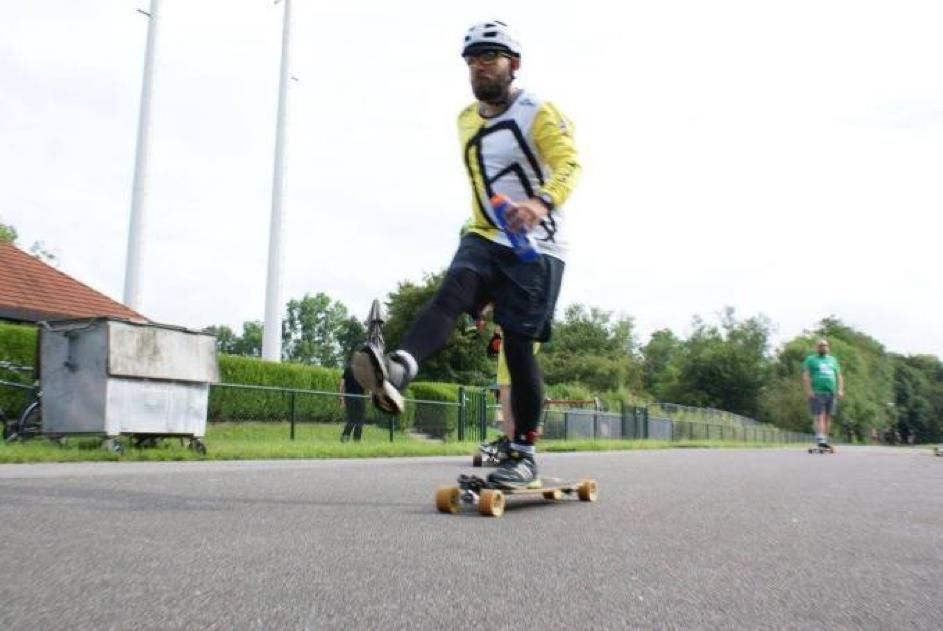 Marco Heinen Longboard Ultraskate